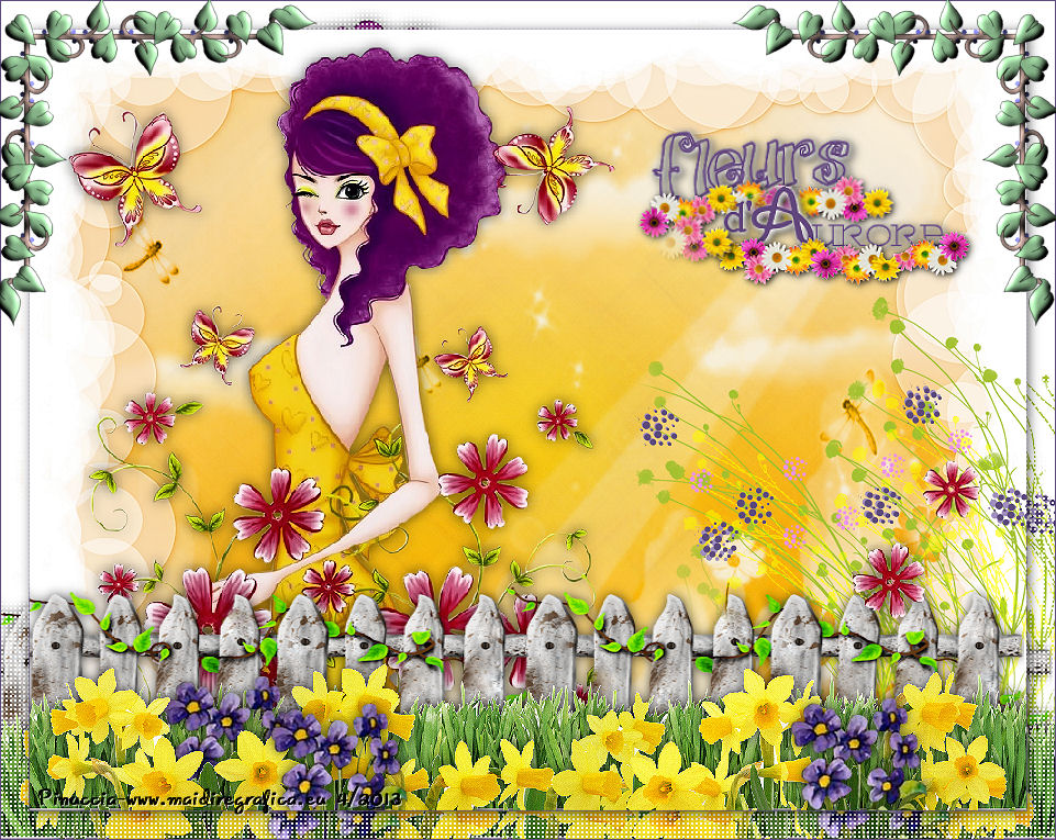 Fleurs d'aurore